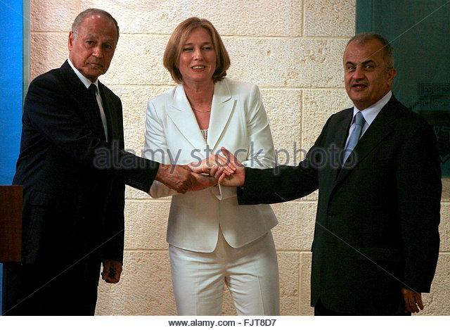 Livni and Abu El-Gheit