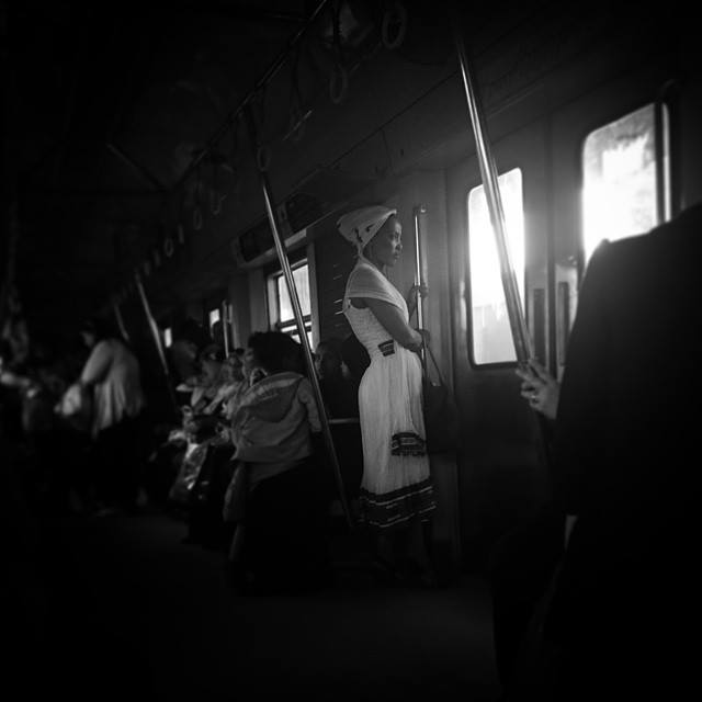 The everyday subway journey. Photo by Hadeer Mahmoud