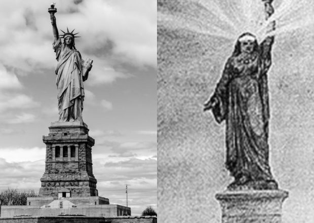 The Statue of Liberty Was Originally Designed as an Egyptian Woman