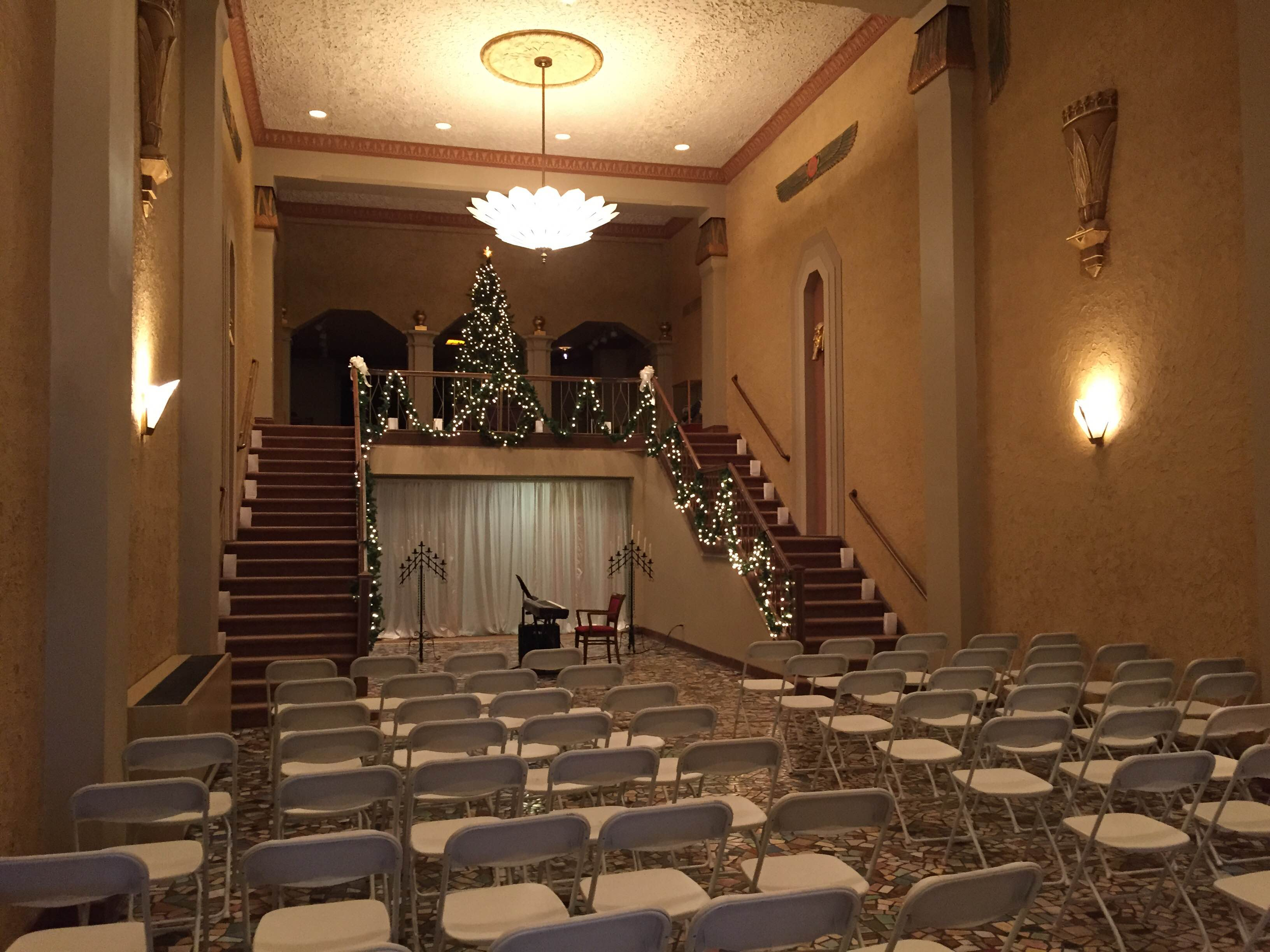 The Historic Egyptian Theatre Wedding Rental