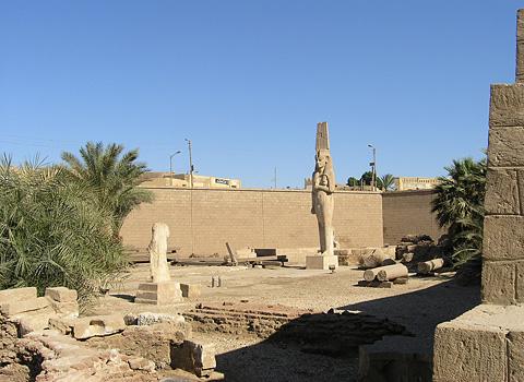 Open-air museum at Akhmim