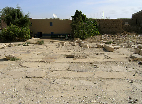 Pavement in the Temple of Amenhotep son of Hapu