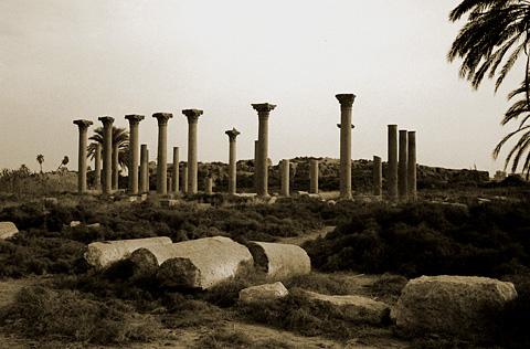 Basilica at el-Ashmunein