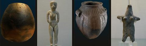 Objects from the el-Badari region