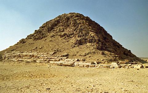 Snefru's satellite pyramid