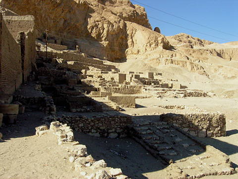 Site of New Kingdom temples