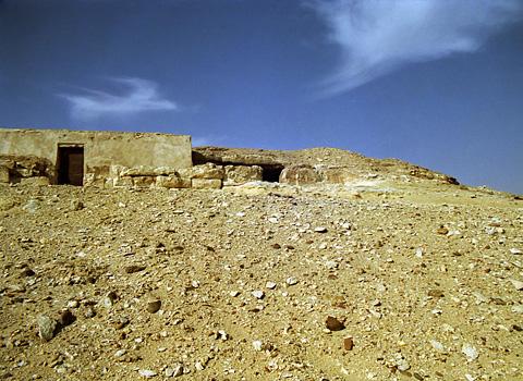 The tomb of Inty at Dishasha