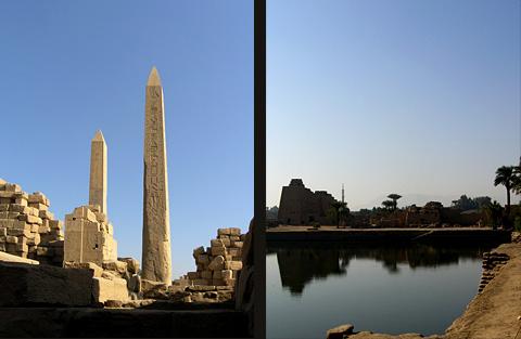 Obelisks and the Sacred Lake