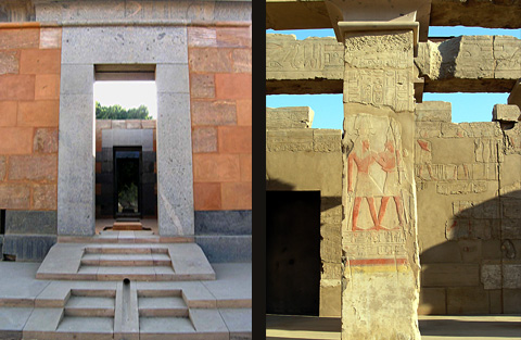 The Red Chapel and Colonnade of Tuthmose IV