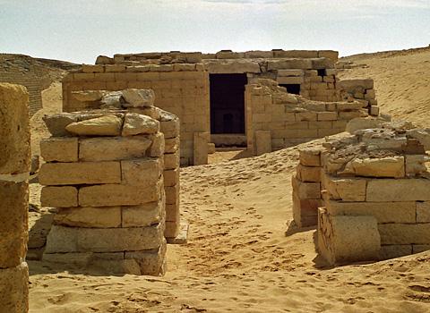 Ptolemaic temple at medinet madi