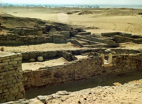 Mudbrick Temple of Sobek