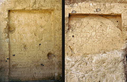 Stelae of Rameses III and Setnakht, Chapels C & E