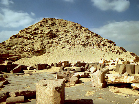 Pyramid and mortuary temple of Niuserre