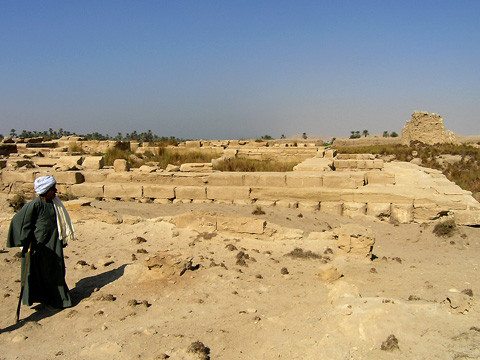 The Temple of Nekhbet in the town of Nekheb