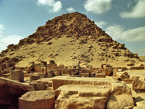 Pyramid and mortuary temple of Sahure