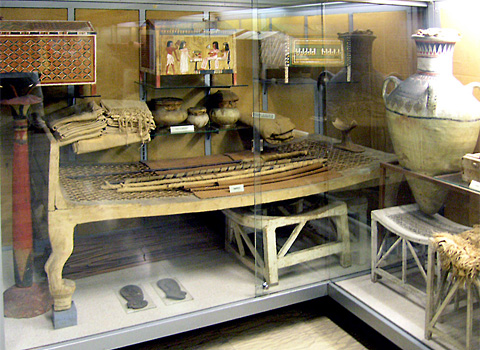 Objects from the tomb of Kha (Turin Egyptian Museum)