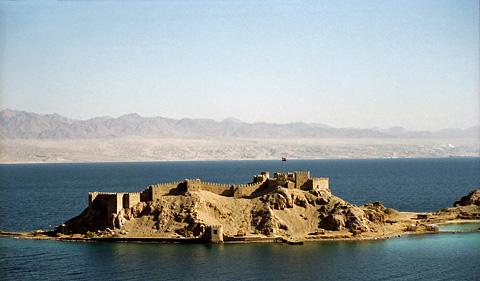 Pahraoh's Island near Taba