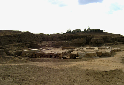 Tanis royal tombs