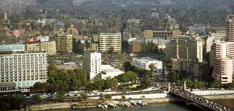 Cairo panorama - Midan Tahrir