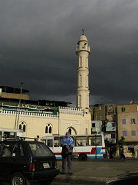 Leaving a dark and gloomy Cairo
