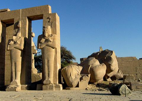 The Ramesseum, Second Pylon
