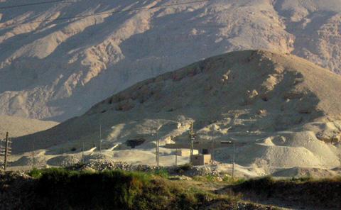 Tombs at el-Moalla