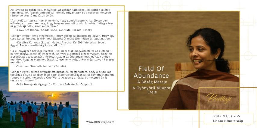 Preethaji - Field of Abundance - A Bőség Mezeje