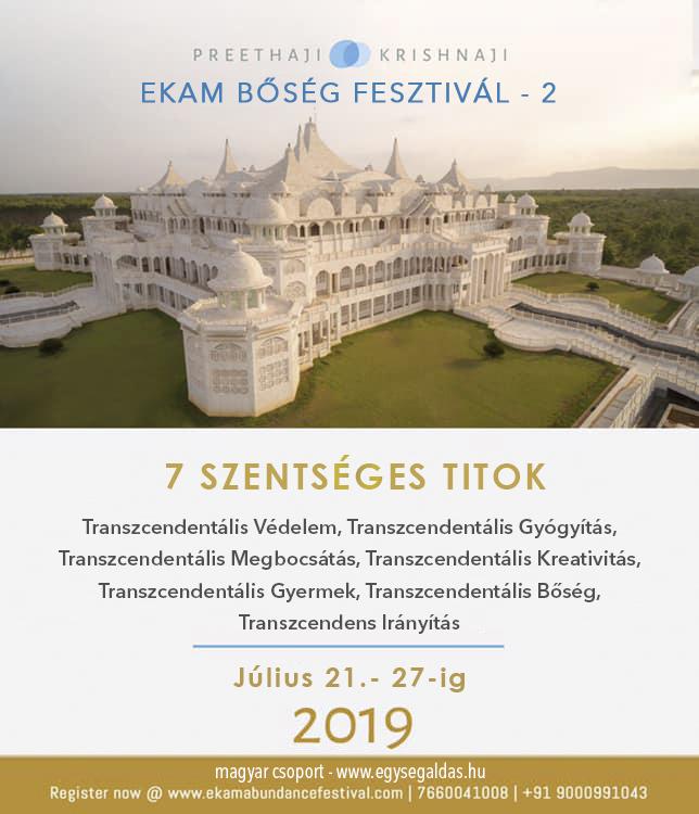 EKAM Bőség Fesztivál 2019