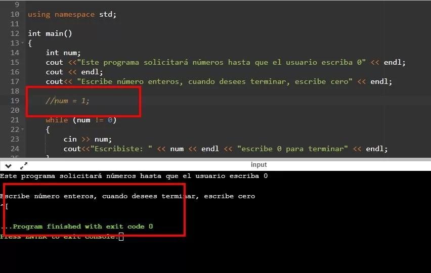 Efectos de una variable sin inicializar