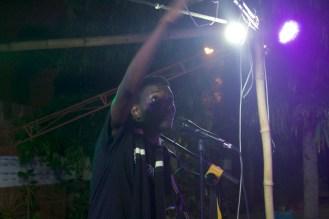 Li performing at Ehalakasa Slam 2016