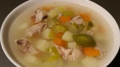 Суп с луком-пореем_6