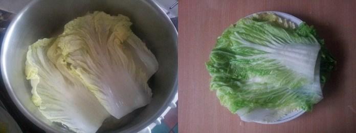 Голубцы с китайской капустой 2