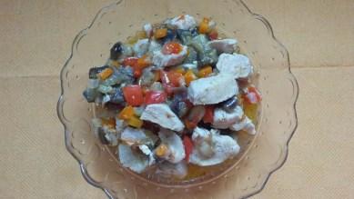 Курица с овощами 5