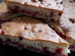 Пирог с ягодами_