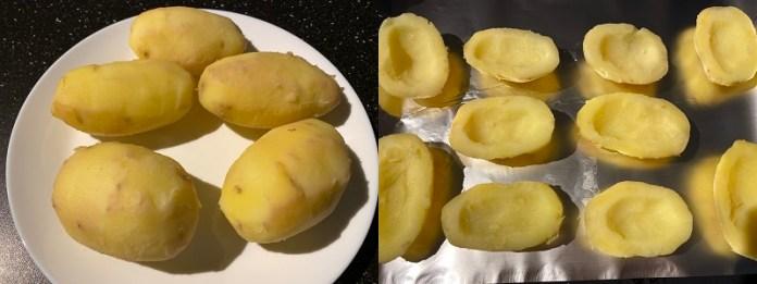 Фаршированный картофель запеченный в духовке _2