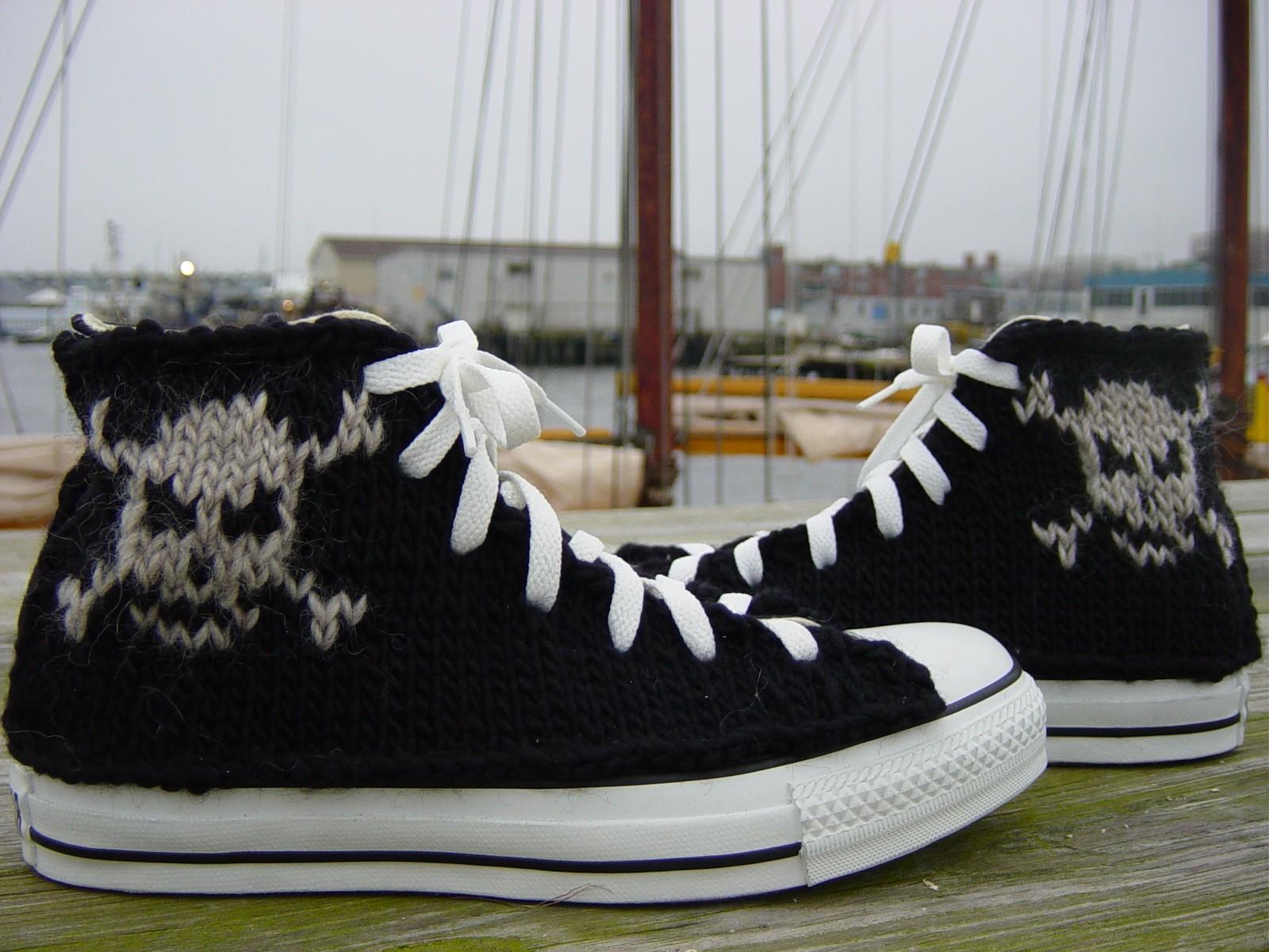 knitted allstars