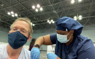 Dr. David Levy, Dr. Seema Sarin, and EHE Health's Clinical Staff Receive COVID-19 Vaccination