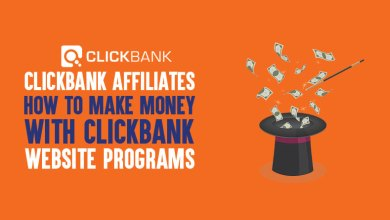 Photo of A Clickbank affiliate website