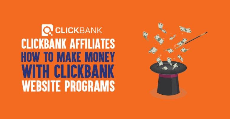 A Clickbank affiliate