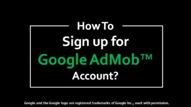 Photo of AdMob account sign up