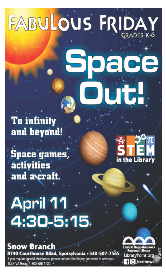 #25477 Space Out poster