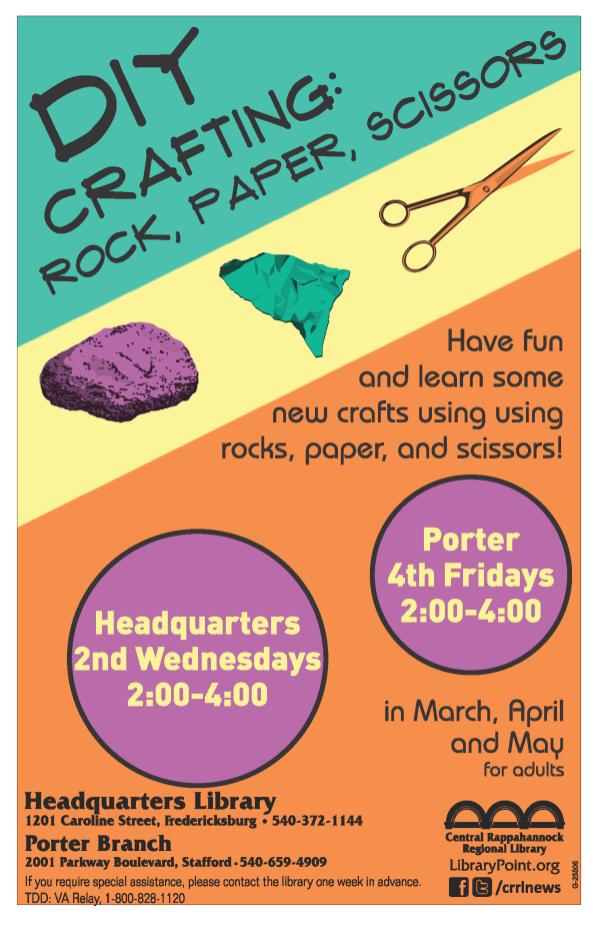 #25506 DIY Crafting Rock, Paper, Scissors