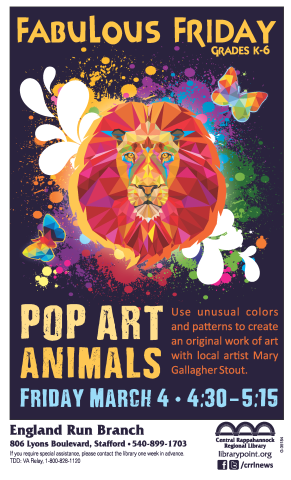 #35184 FF Pop Art Animals