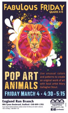 #35184 FF Pop Art Animals