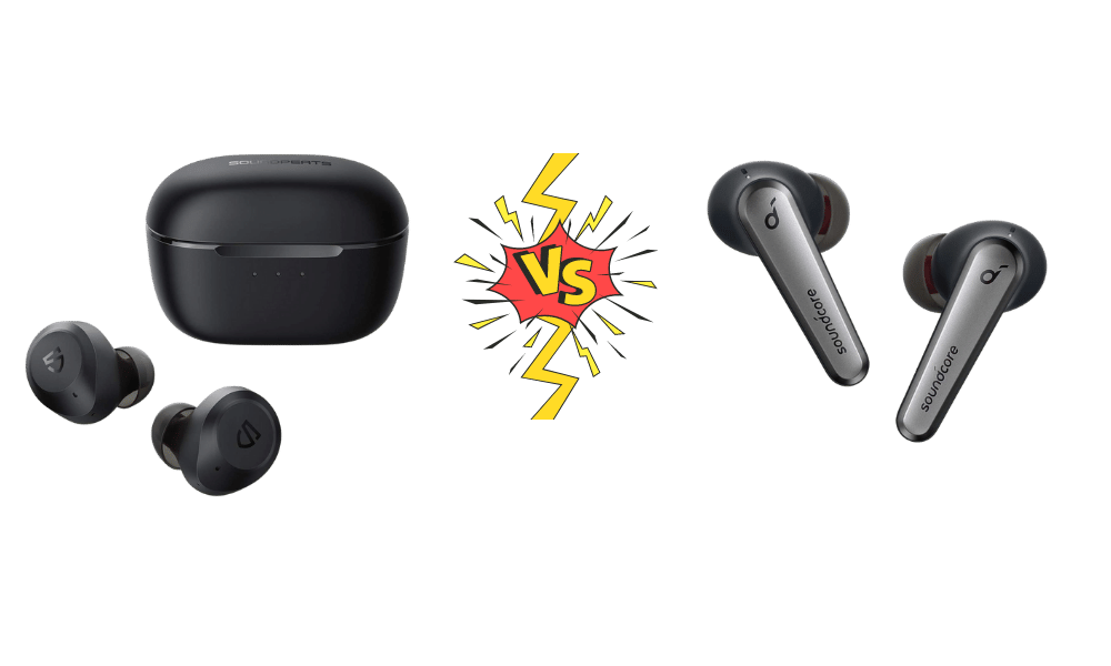 Soundpeats T2 vs Soundcore Liberty Air 2 Pro