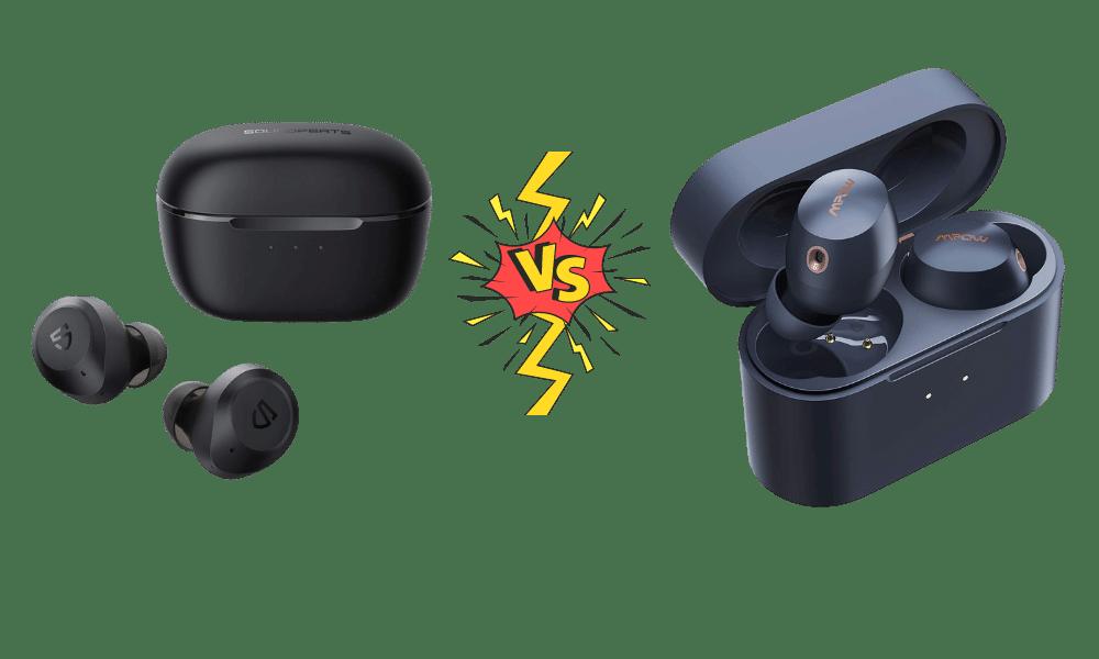 Soundpeats T2 vs Mpow X6