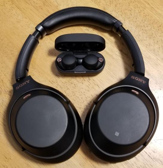 Sony WF-1000XM4 review comparison wh xm4
