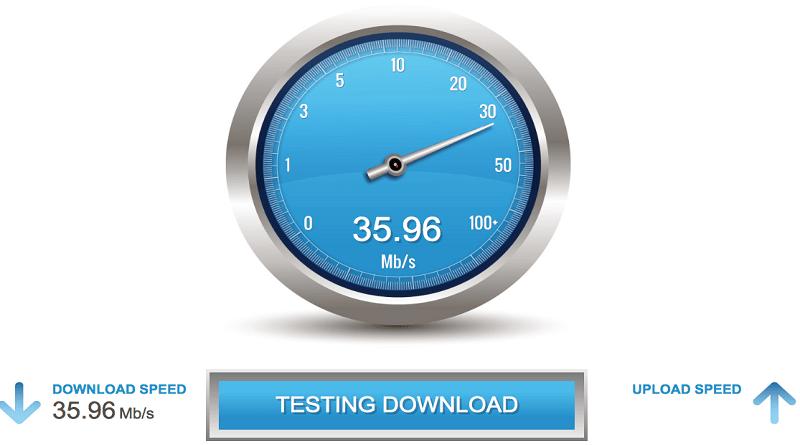 Speedtest op Raspberry Pi