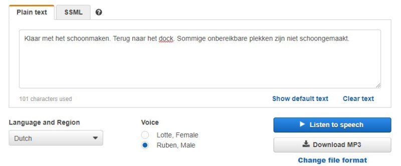 Nederlandse taal op Xiaomi Roborock S5