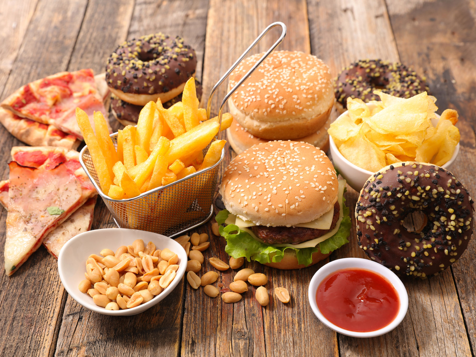 Fast Food As Bad For You As A Bacterial Infection